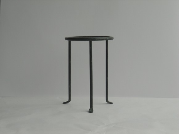 Wrought Iron tall stand