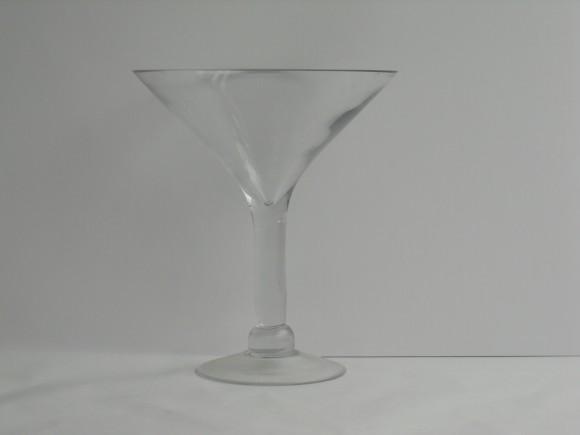 Tall Glass Marini Glass