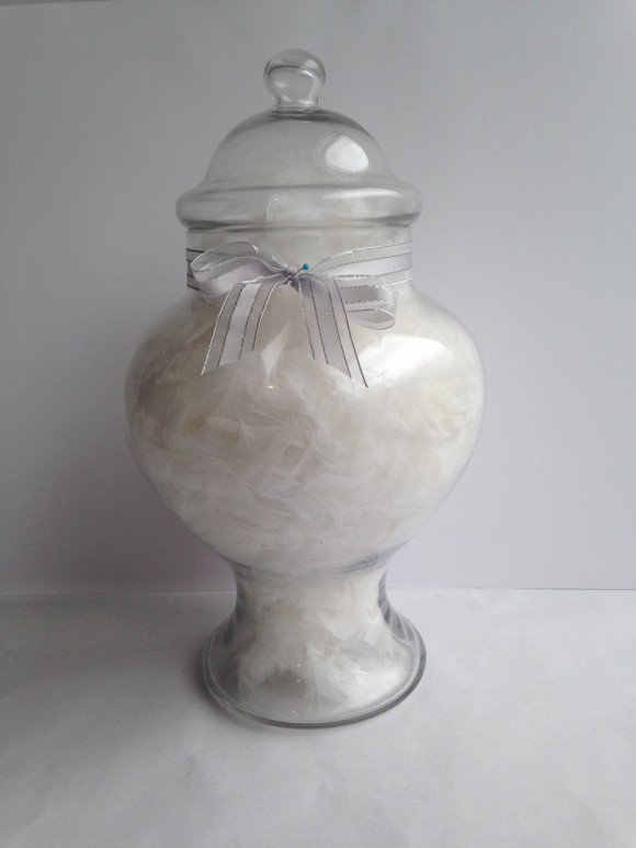 Rounded Glass Lolly Jar